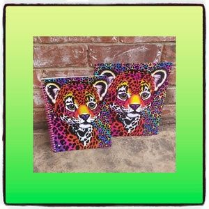 Lisa Frank Folder and spiral notebook